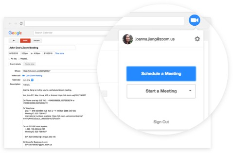 Start Meetings in Seconds